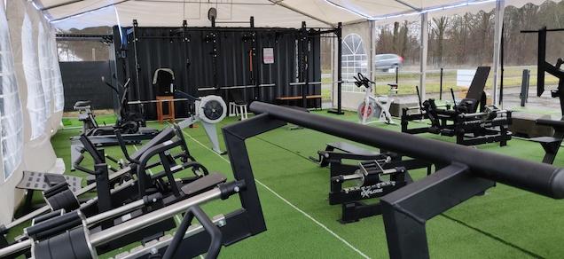 Sporten kan tijdens lockdown in ABC's Outdoor Gym